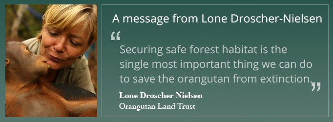 A message from Lone Droscher Nielsen